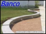 Banco de concreto - 008
