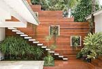 Escada reta em concreto - 012