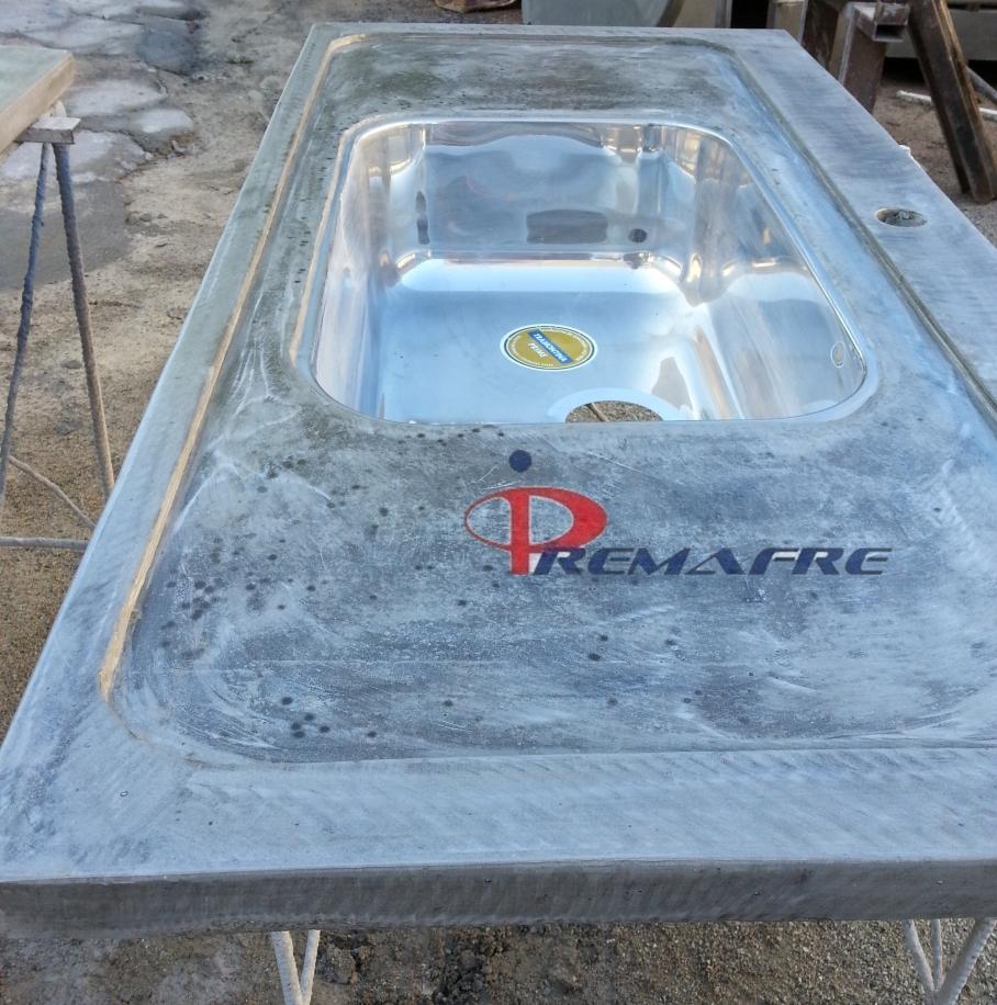 Extremamente Pia de cimento queimado (1) | Premafre - Pré-moldados Araújo Freitas LJ81