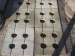 Grelhas de concreto - 007